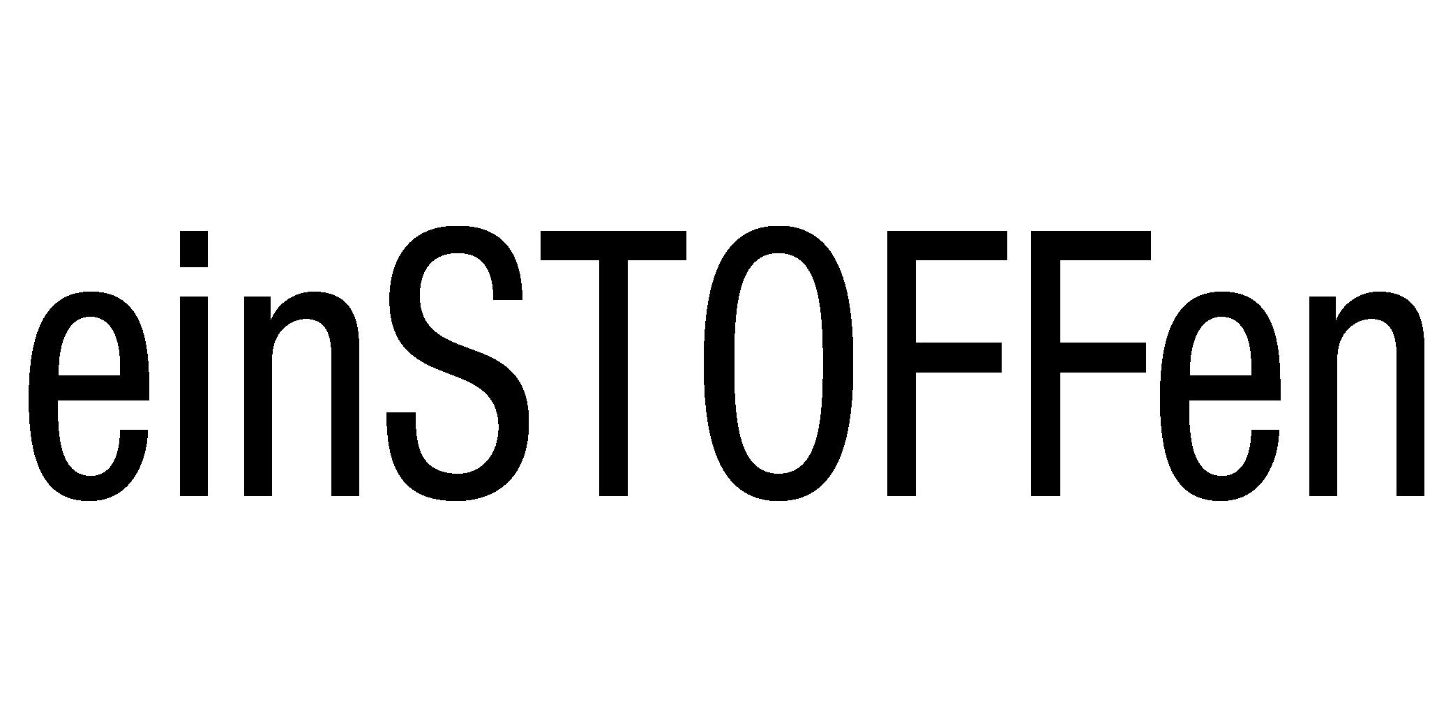 einSTOFFen, Logo/Brand | matadorworld.innsbruck